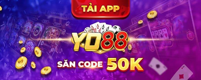 yo88 - đăng ký tặng code 50k